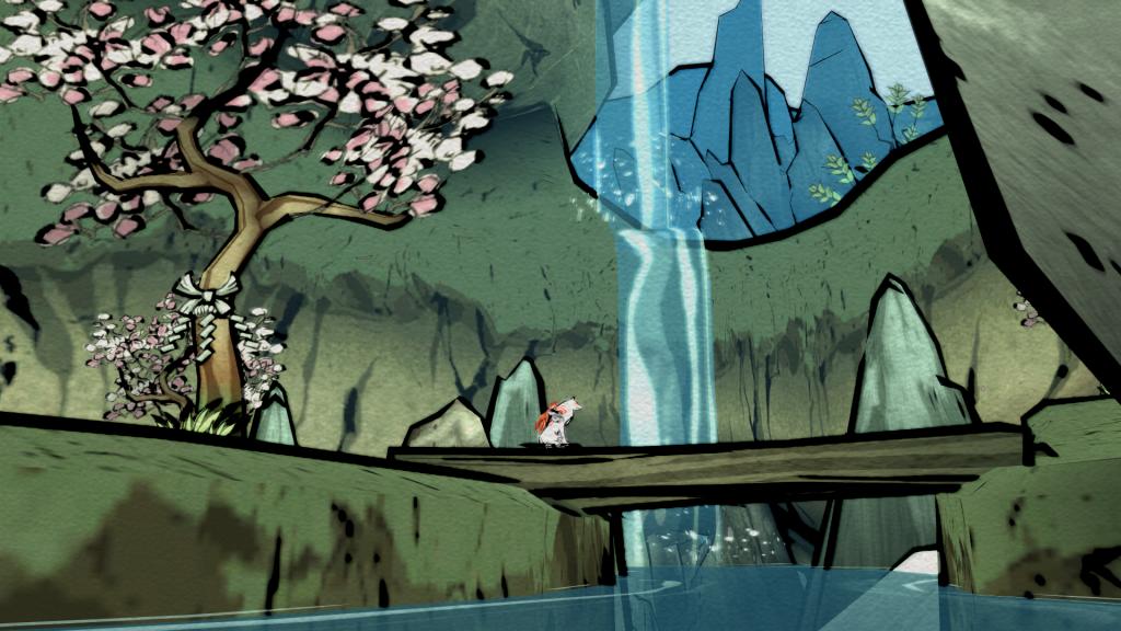 Ôkami - De beaux paysages tracés au pinceau