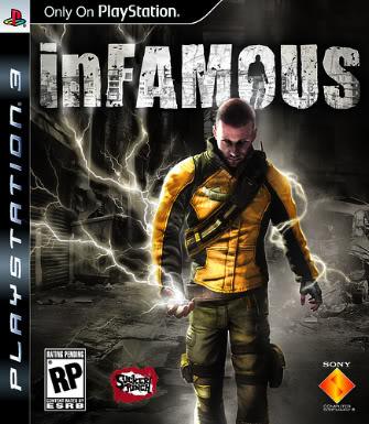 Jaquette PS3 - Infamous