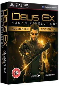Jaquette PS3 - Deus Ex HR