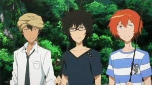 Akira, Natsuki et Yuki