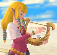 Zelda et sa lyre